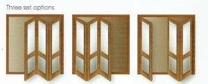 Bi Fold Door 3 set Options
