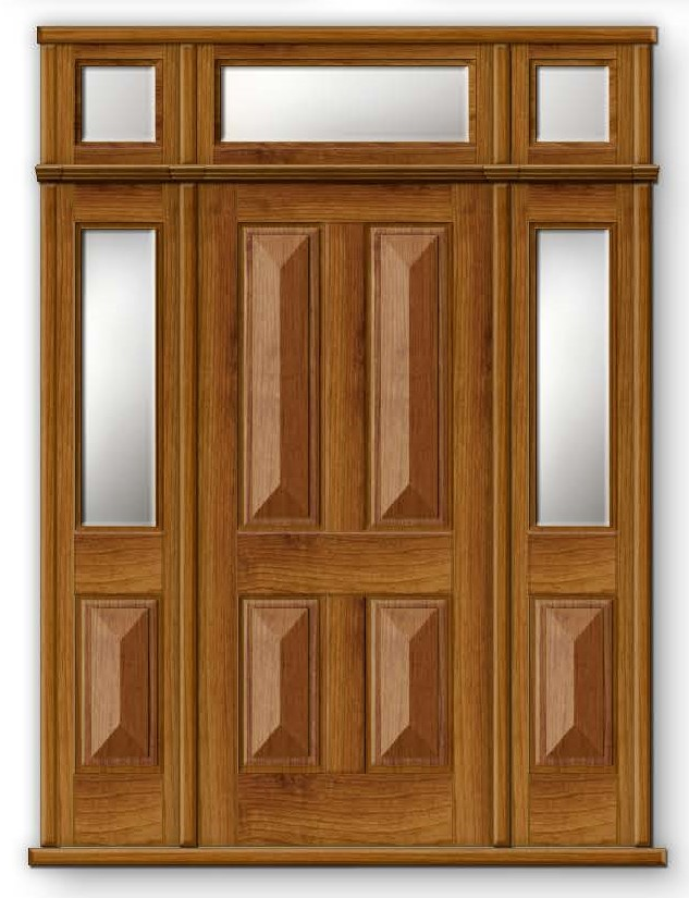 Traditional Entry Timber Doors Rwd Joinery